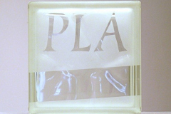 Plato-Sandblasted-glass